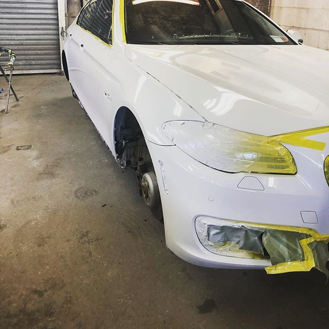 5 series ready for wet sand polish