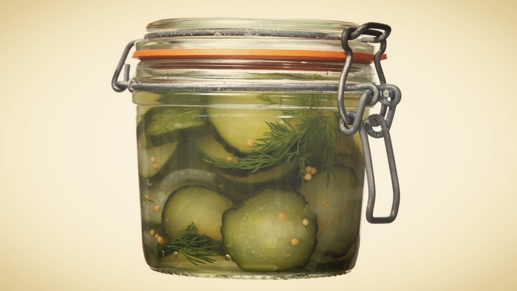 Homemade Pickles by Shelley