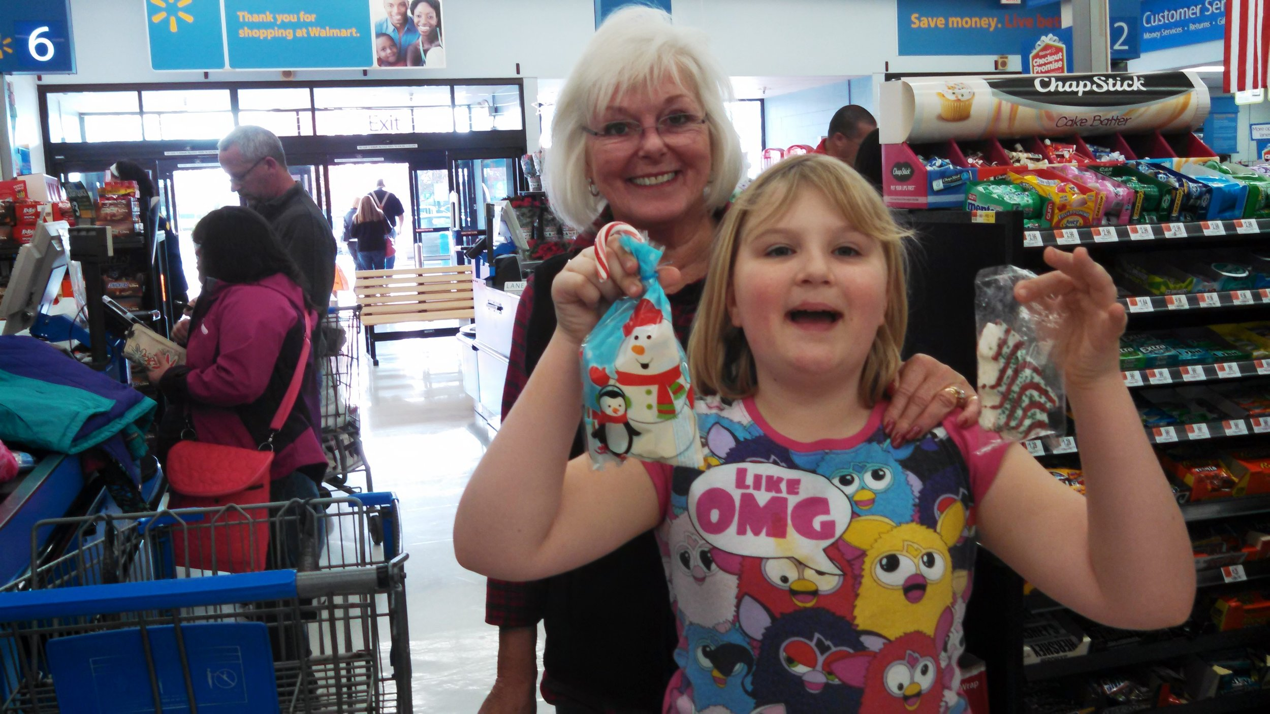 The Santa Claus Project  Every year we take children in need from McMinnville School District shopping at Christmas