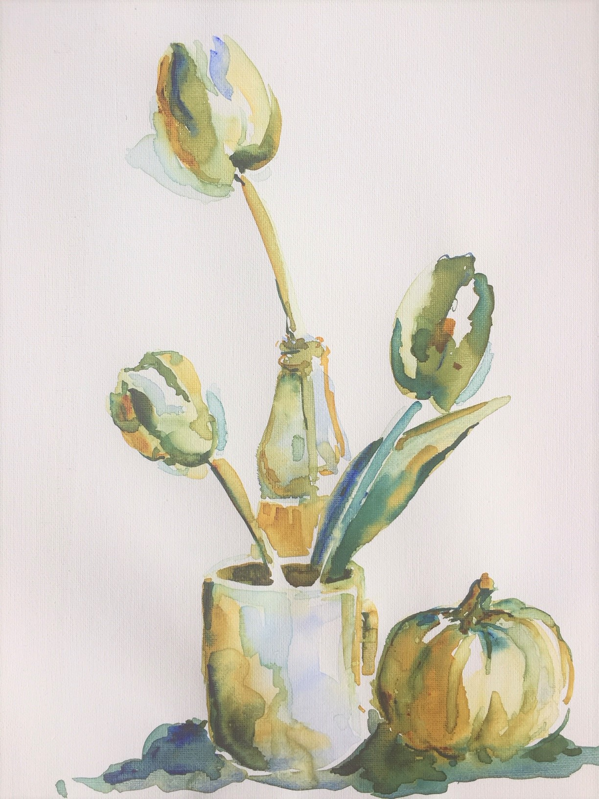 Tulips  Watercolor  Prints available