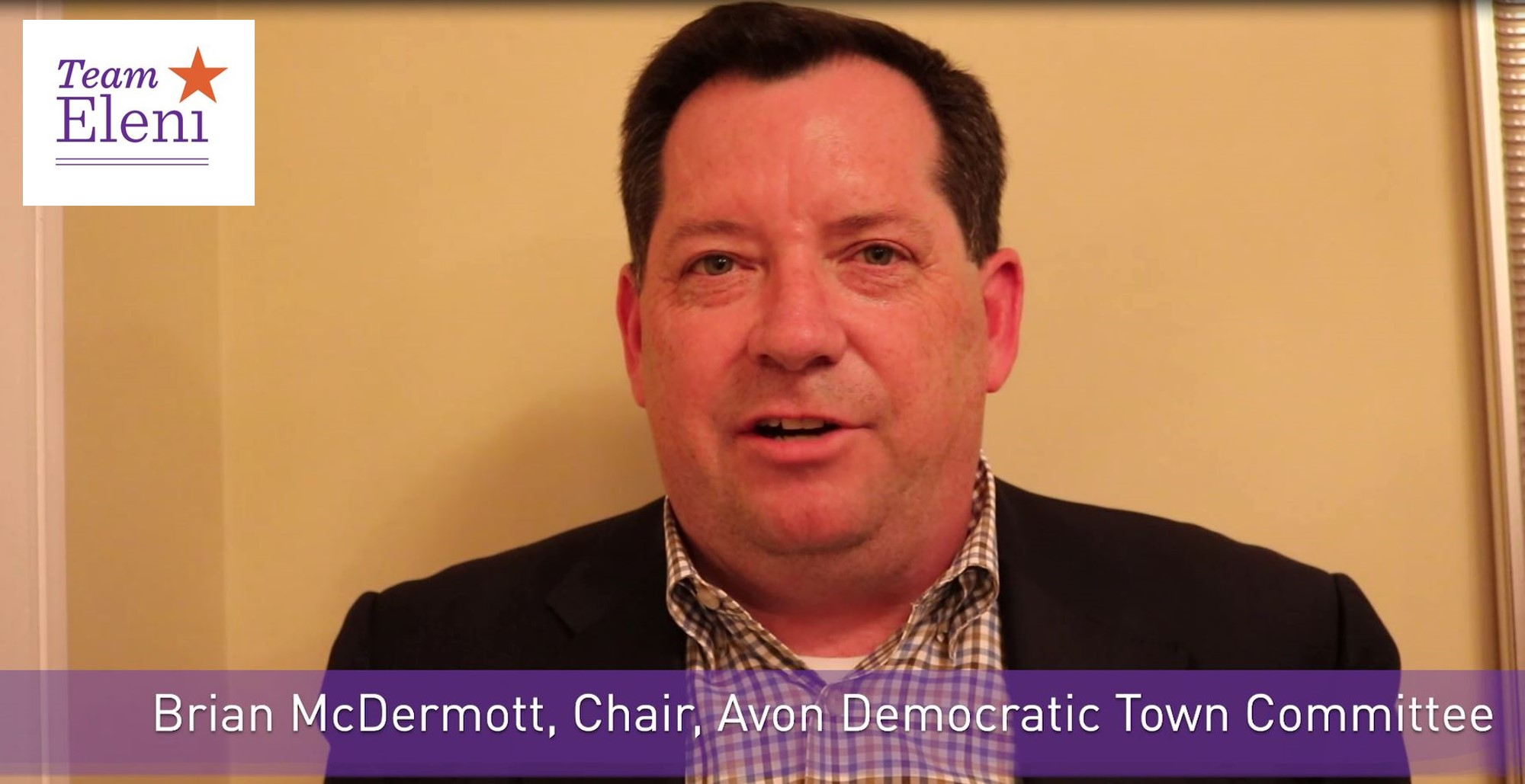 Avon Democratic Town Committee Endorses Eleni Kavros DeGraw -