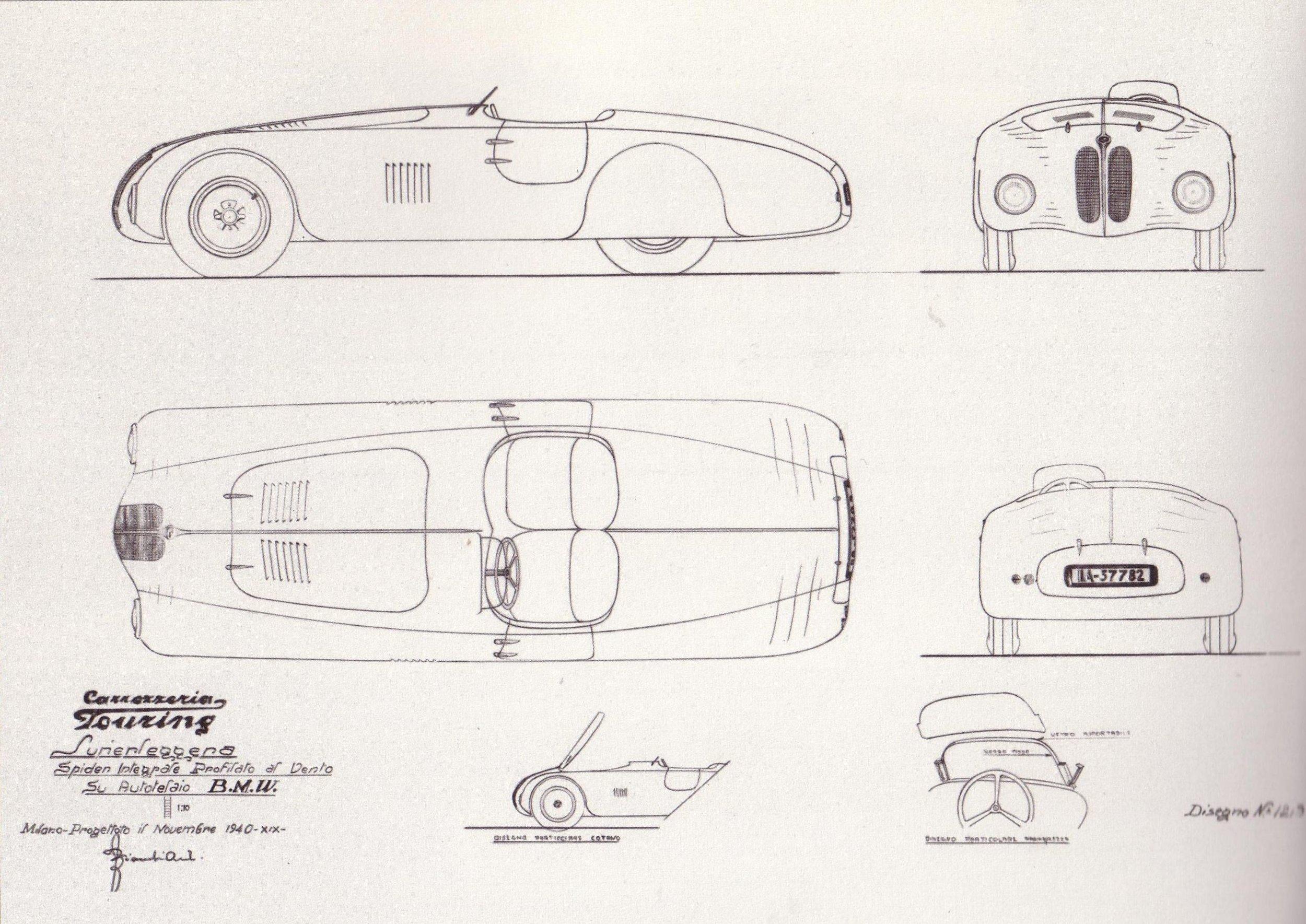 Original Superlegerra Designs (1940)