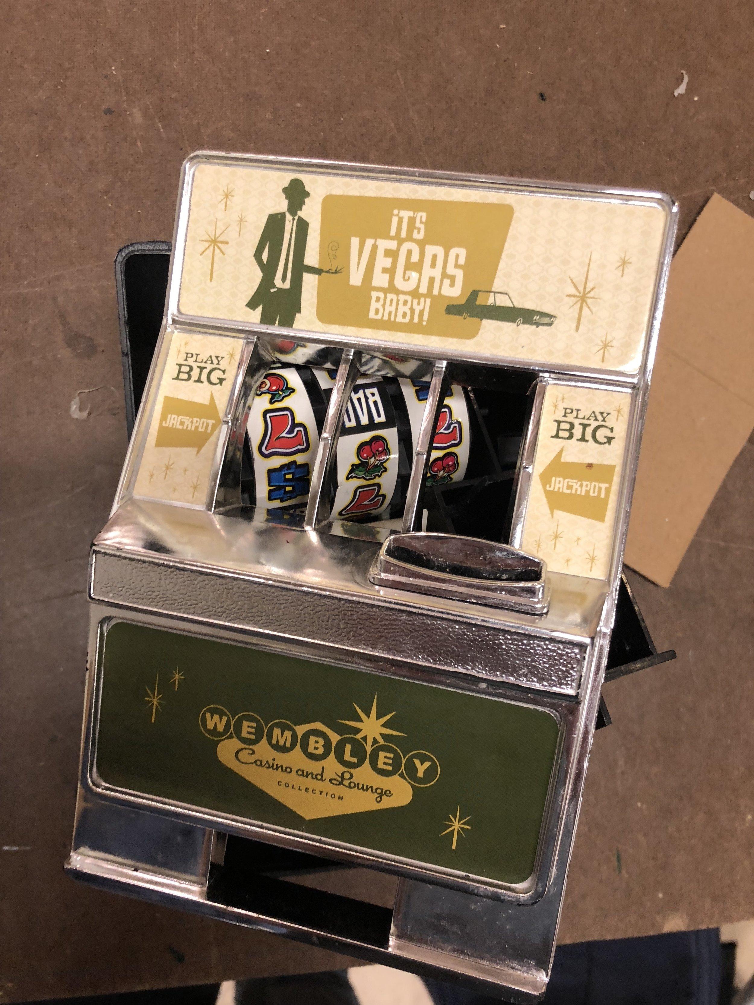 Salvaged Slot Machine