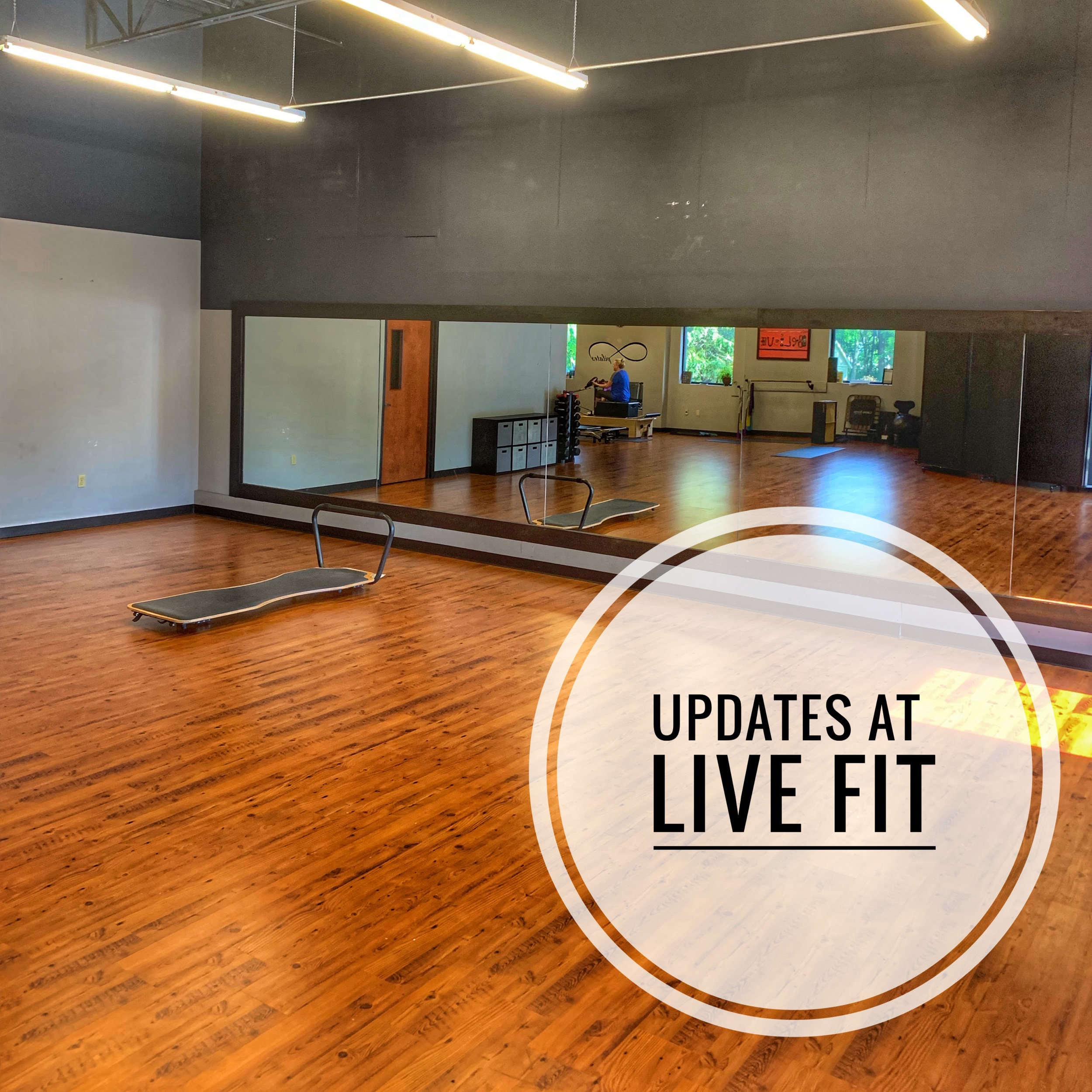 Updates at Live Fit