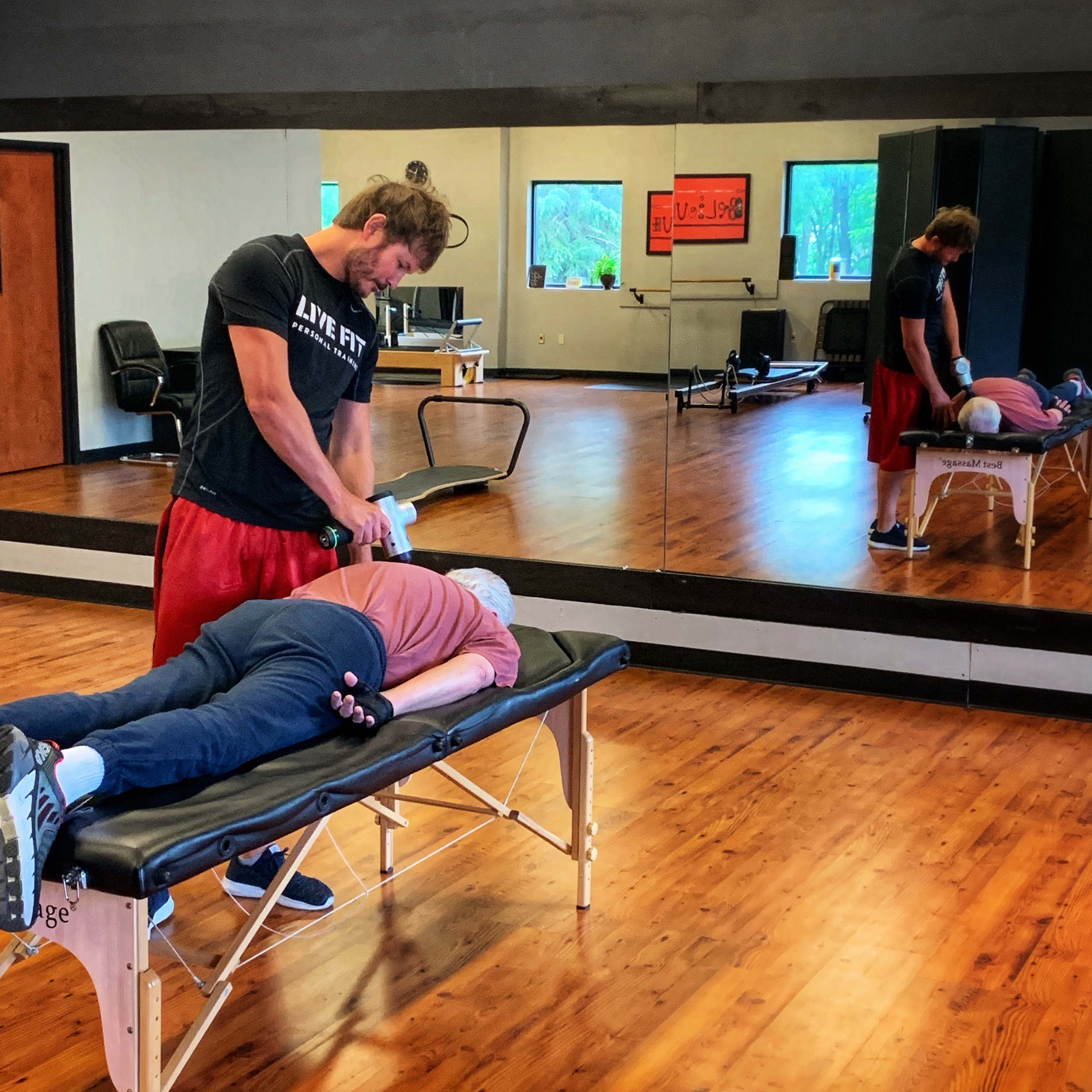 Muscle recovery options at Live Fit