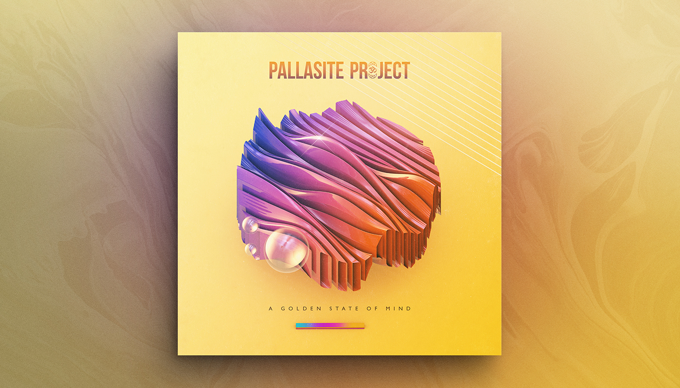 A GOLDEN STATE OF MIND   Artist:  The Pallasite Project  Origin:  Colorado, USA  Genre:  Electronic  Release:  2017  Cover artwork:  Shørsh