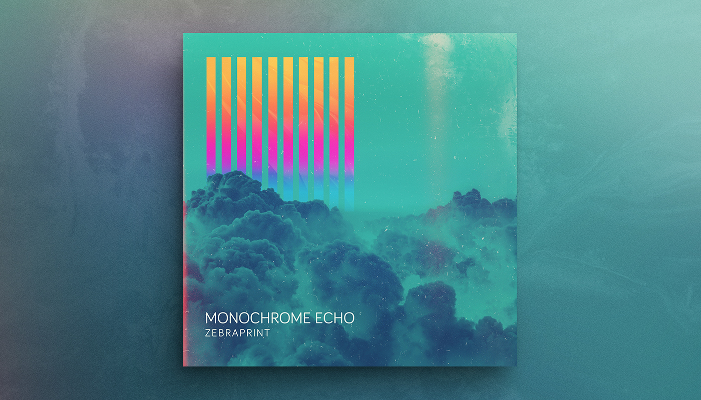 "ZEBRAPRINT   Artist:  Monochrome Echo  Origin:  London, UK  Genre:  Dance / Electronic  Release:  2017  Cover artwork:  ""Stripped Sky"", by Shørsh"