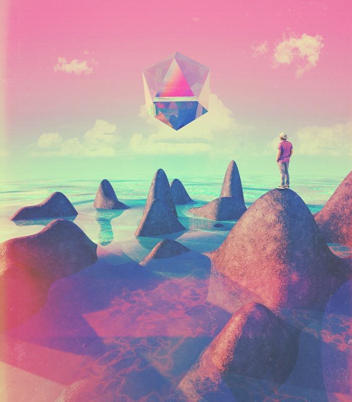 """""""Platónico"""". iIustración 3D."""