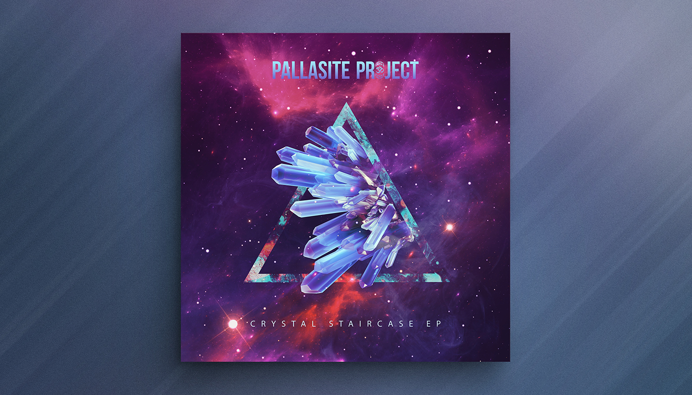 CRYSTAL STAIRCASE EP   Artist:  The Pallasite Project  Origin:  Colorado, USA  Genre:  Electronic  Release:  2018  Cover artwork:  Shørsh