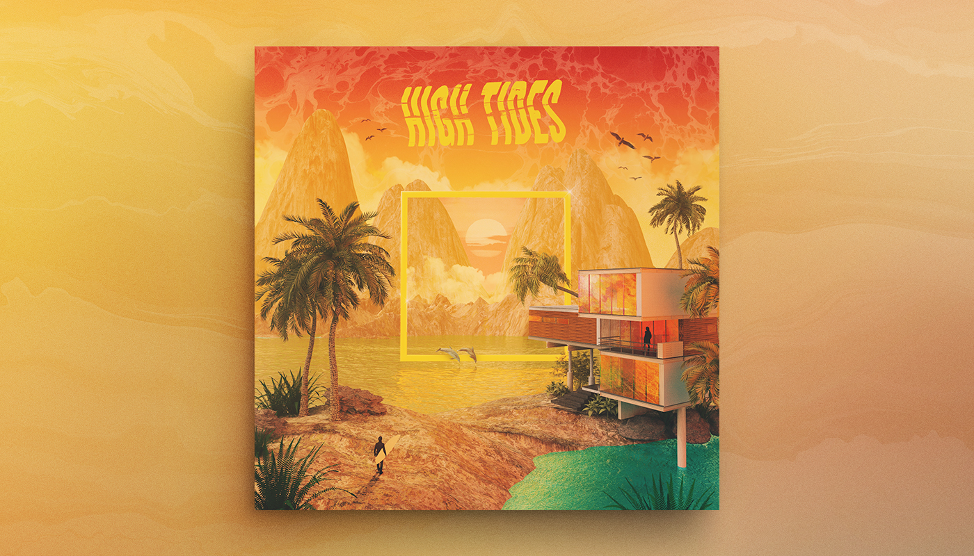 PARADISE DAZE   Artist:  High Tides  Origin:  California, USA  Genre:  Electronic  Release:  2019  Cover artwork:  Shørsh