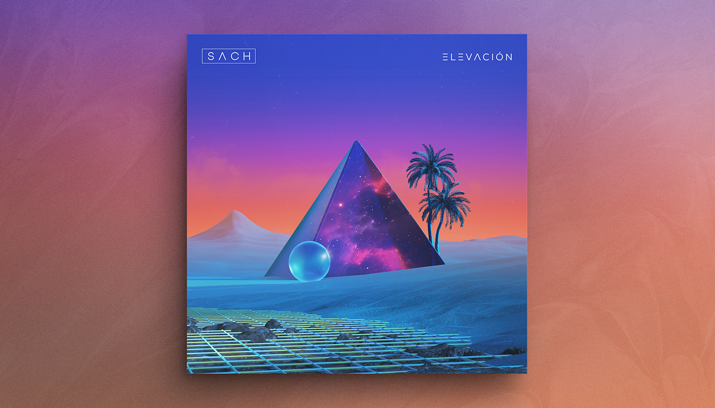ELEVACIÓN   Artist:  SACH  Origin:  San Juan, Puerto Rico  Genre:  Electro-jazz  Release:  2019  Cover artwork:  Shørsh