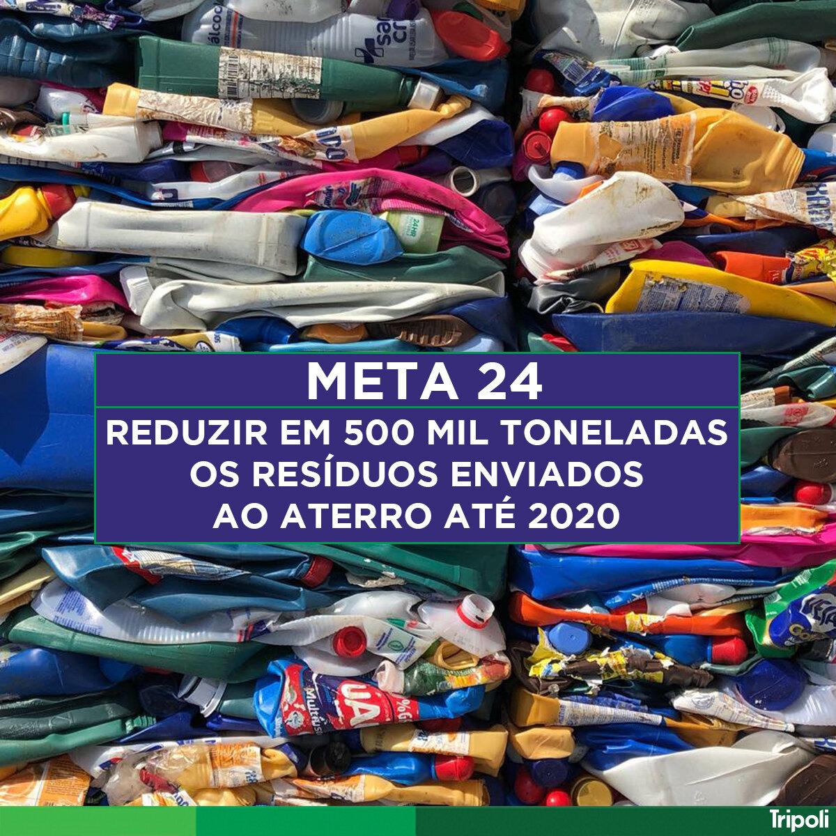 #ReciclaSampa é o programa de Metas de Desenvolvimento Urbano e Meio Ambiente da cidade de São Paulo. Visite o site reciclasampa.com.br e veja como colaborar com a reciclagem do município.
