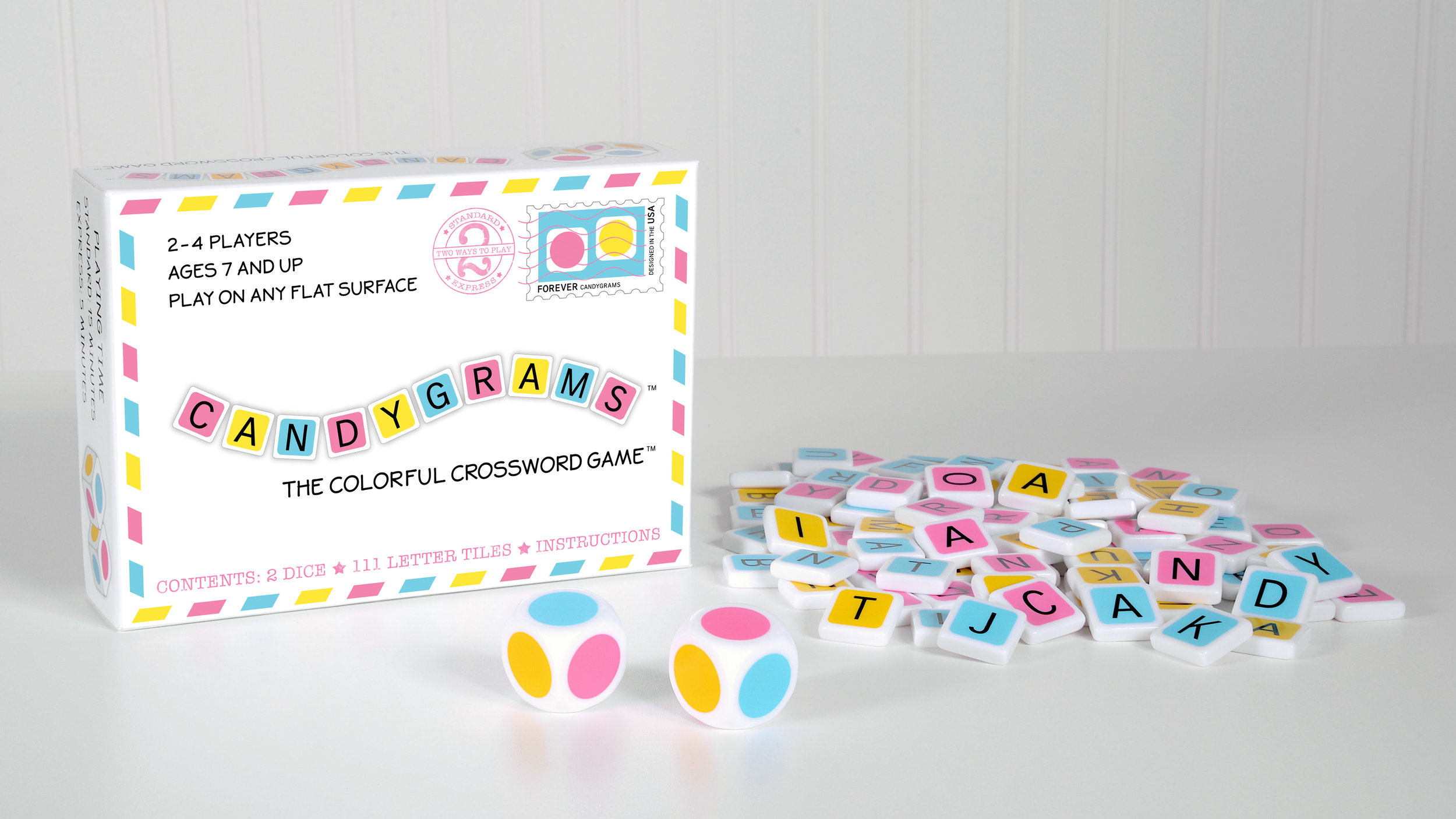 It's hard to find family games — especially word-making games — that are fun and challenging for both kids and adults, but Candygrams delivers an instant classic.