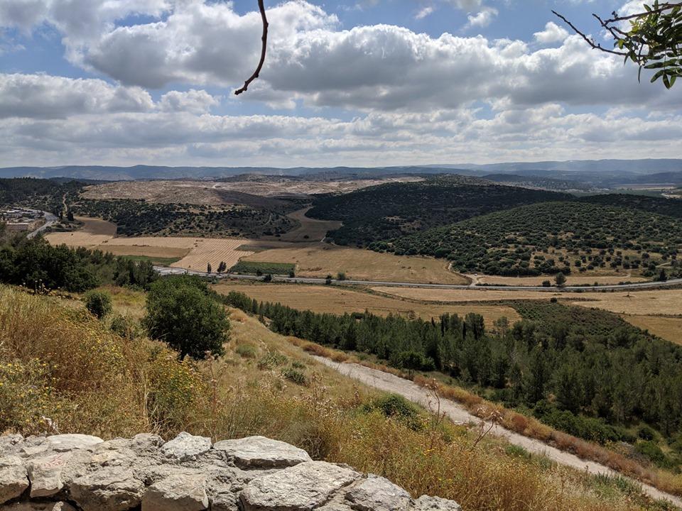Lessons from Israel Valley of Elah.jpg