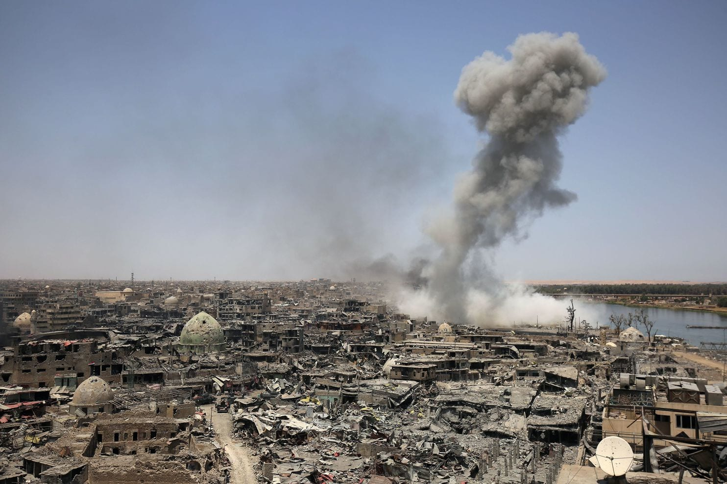US airstrike on Mosul on 17 March 2017 alone was thought to kill more than 500 civilians -