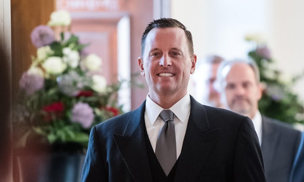 What a guy !! He can walk and chew gum - Richard Grenell makes it look so easy. -