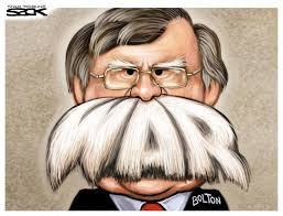 Bolton - one of the architects of the fake news and fear that drove the Iraq war - is now Trump's national security advisor -