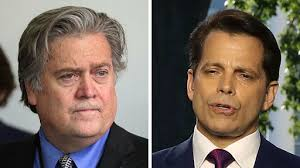 "Scaramucci: ""I'm not Steve Bannon, I'm not trying to suck my own cock"", -"