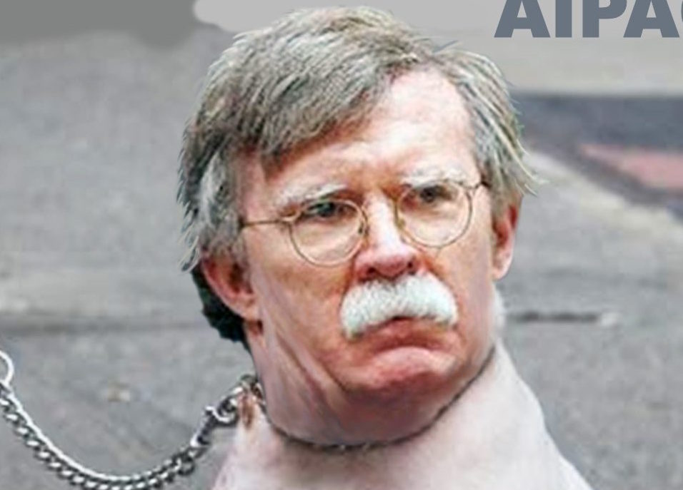 John Bolton - if he isn't a dog, he's an ass. -