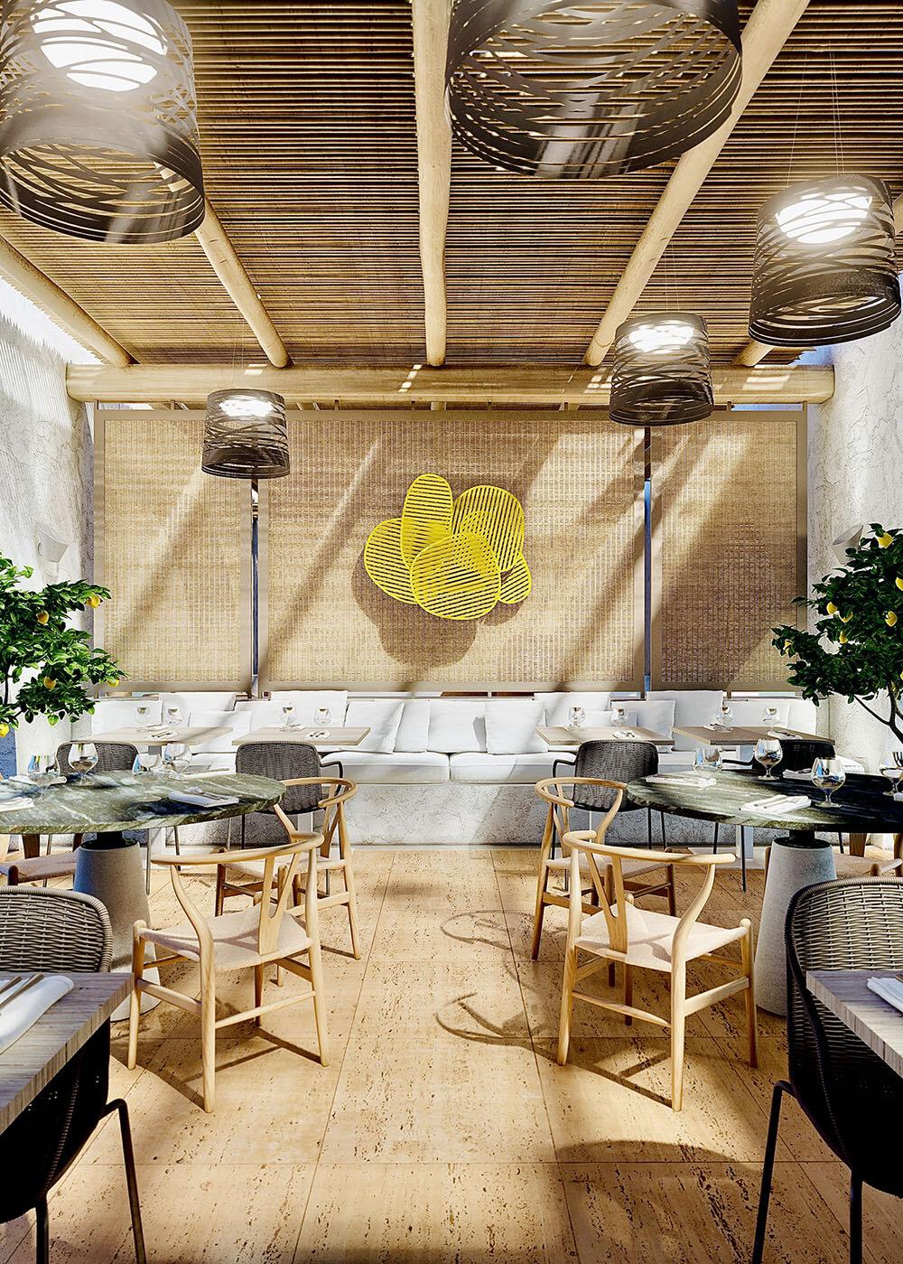 3D Rendering Hospitality Restaurant