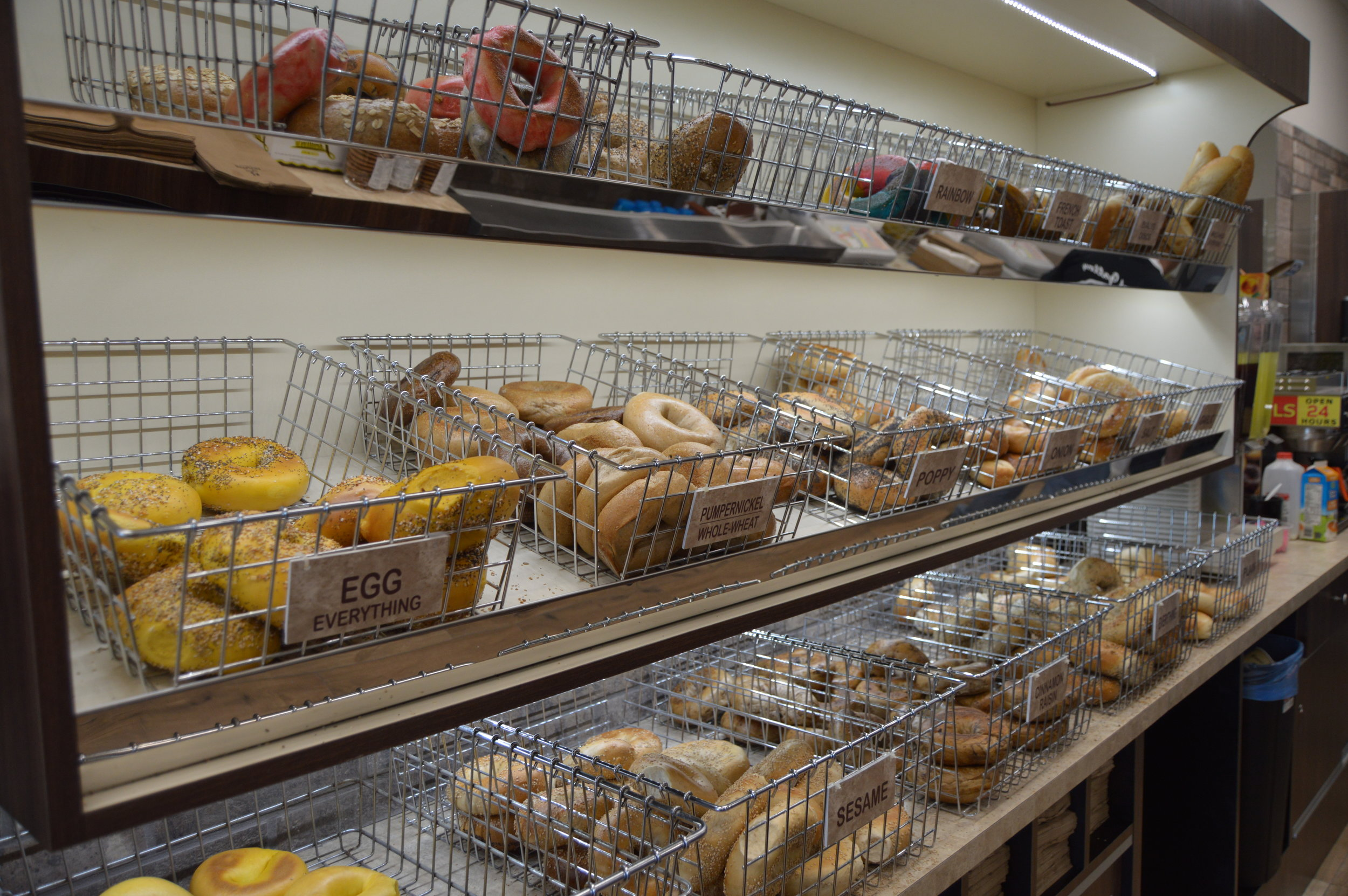Bagel Gallery - New Location - Opening Day 025.JPG
