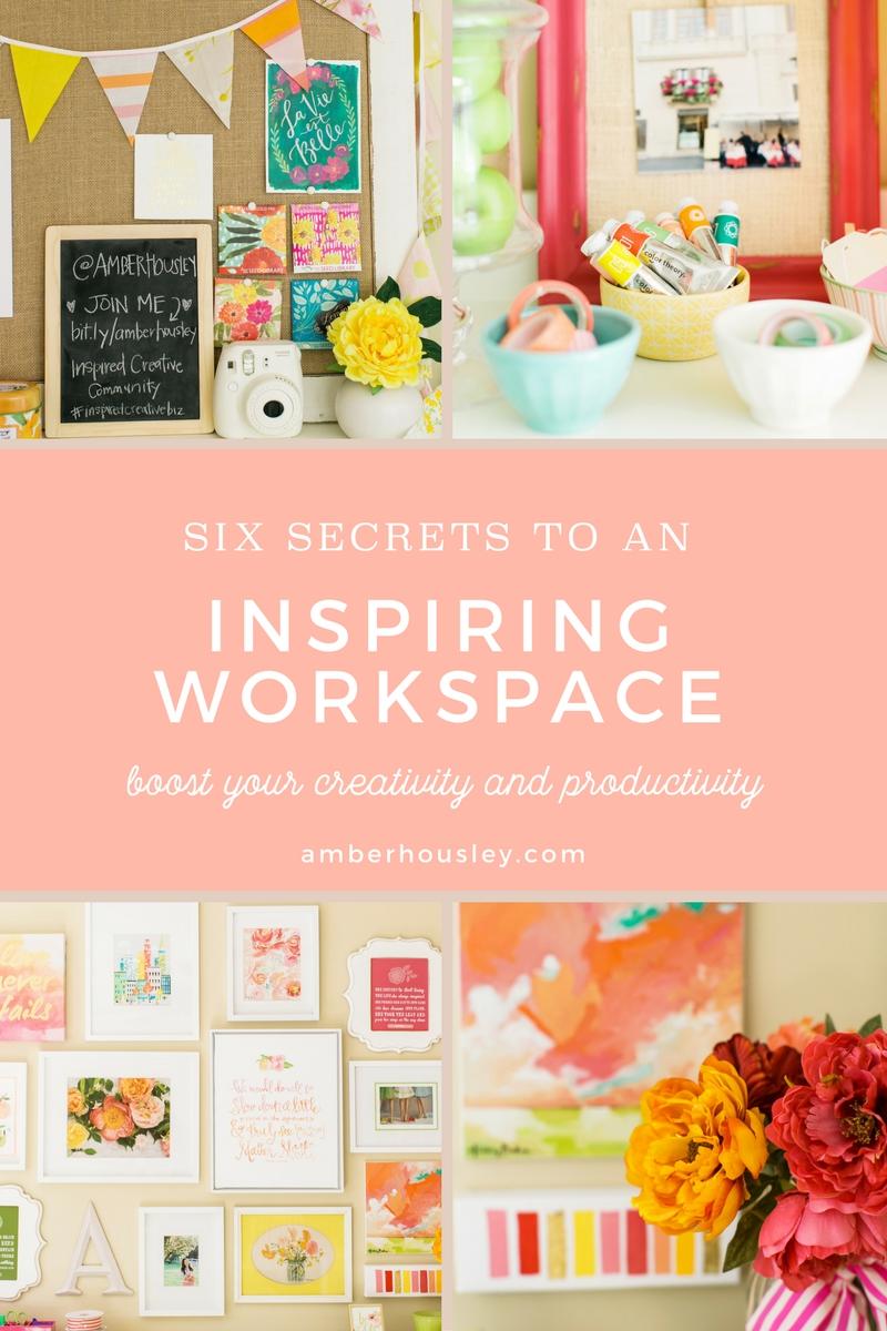 Six Secrets to An Inspiring Workspace