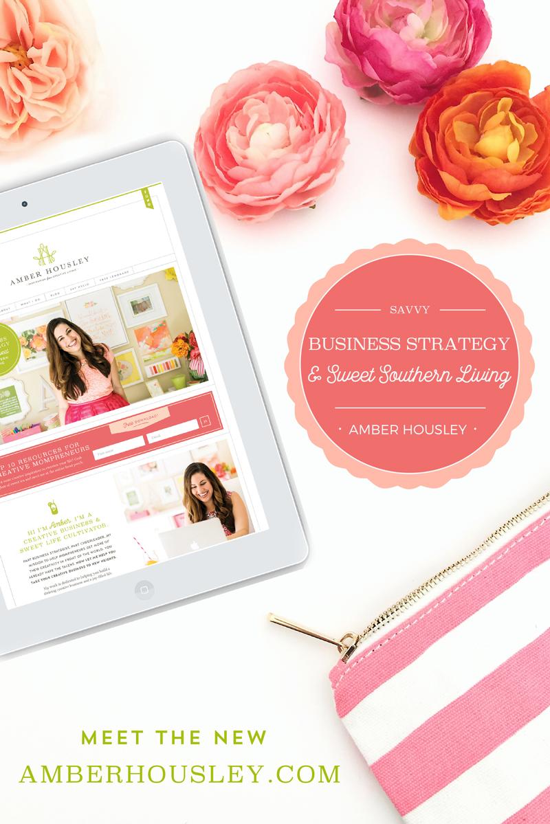 Amber Housley Website