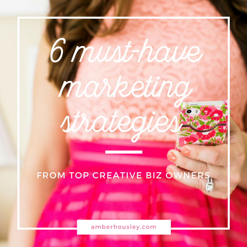 Creative Business Markers Owners Marketing Strategies