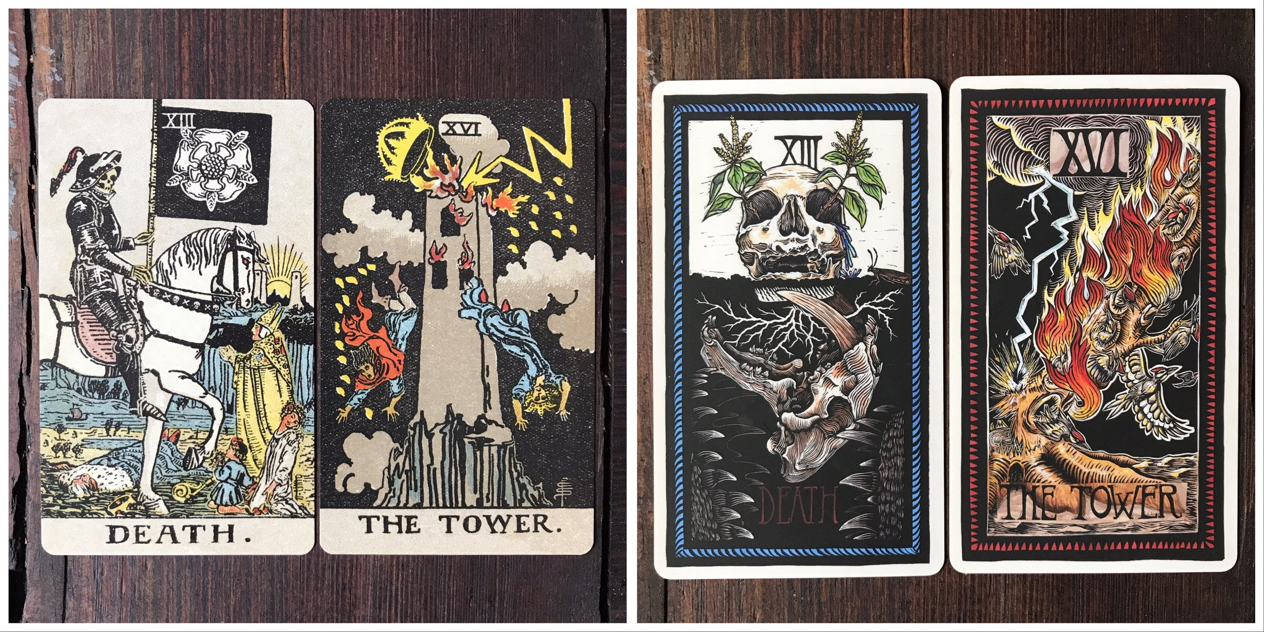 Borderless Waite-Smith // Brady Tarot