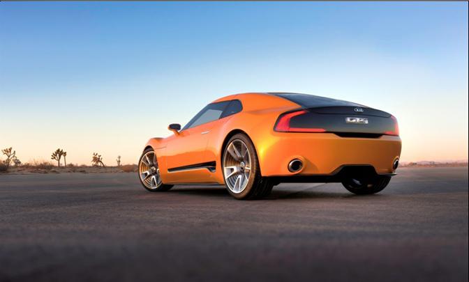 KIA GT4 STINGER -