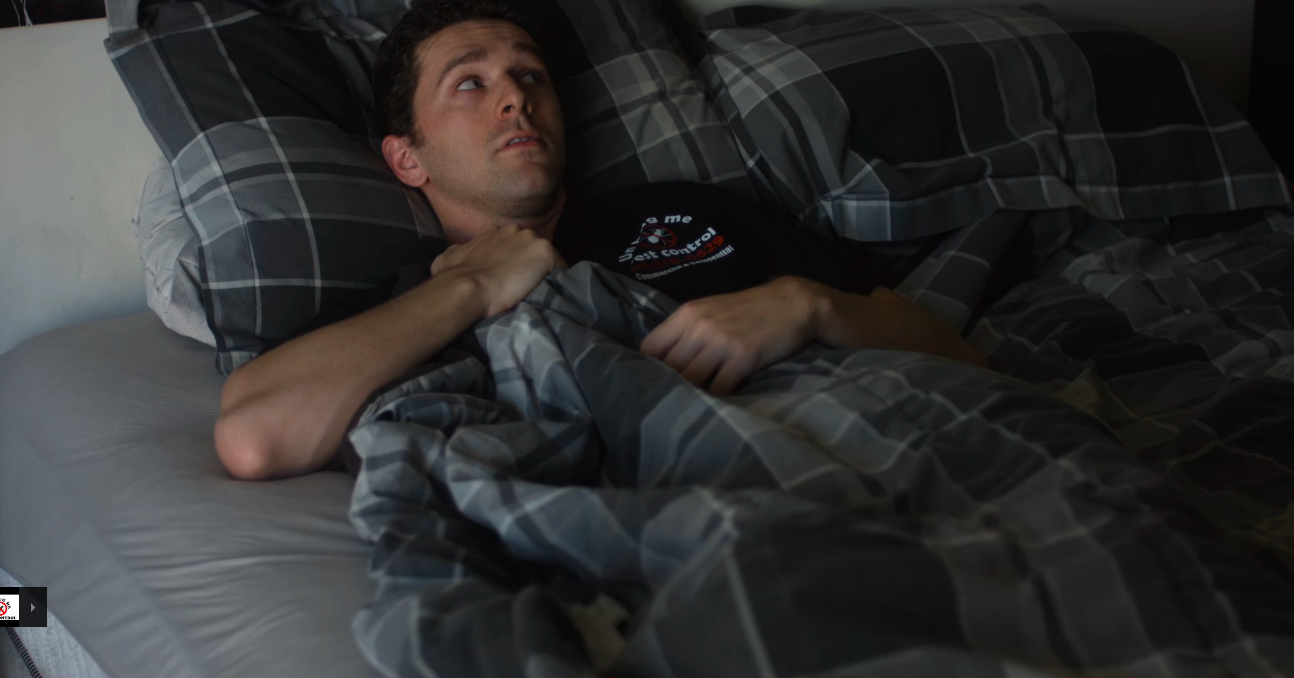 In bed at night, many people will hear faint noises coming from an unknown place.