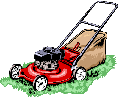 Make sure the grass is mowed often enough that it doesn't overgrow.