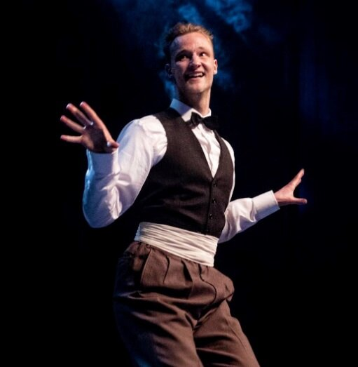 Anders Sihlberg - Anders is a swing dance instructor and performer based in Stockholm, Sweden. He has studied dances such as ballet, contemporary and modern jazz since the age of 10 and developed a passion for body movements, rhythm and teaching dance. At the age of 13 he fell in love with the African American social dances of the swing era such as Lindy Hop, Vernacular Jazz, Charleston and Tap and has since then been fortunate to teach and perform all around Europe, Africa and the USA.