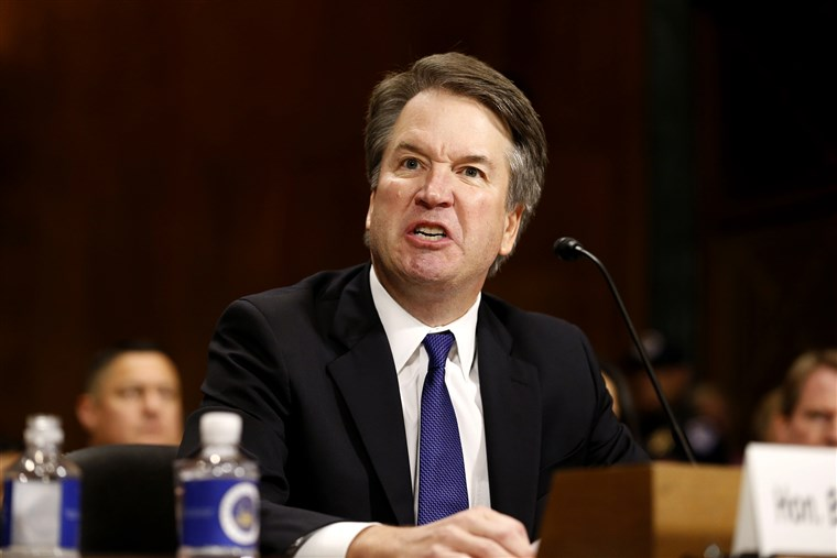 What a nice preview of Kavanaugh's cool temperament.
