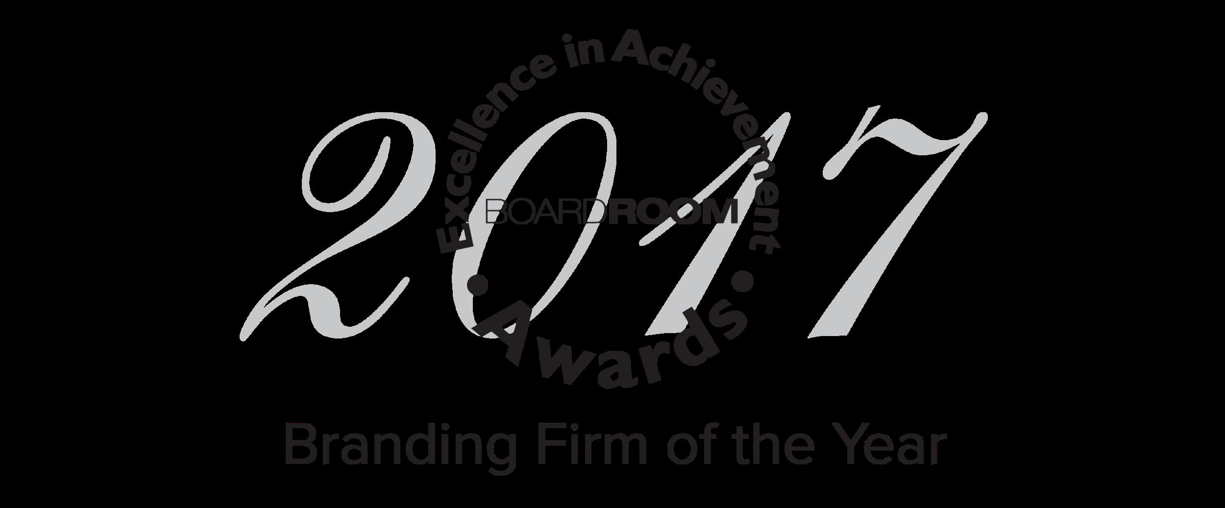 Best Branding Firm 2017 BoardRoom Awards.png