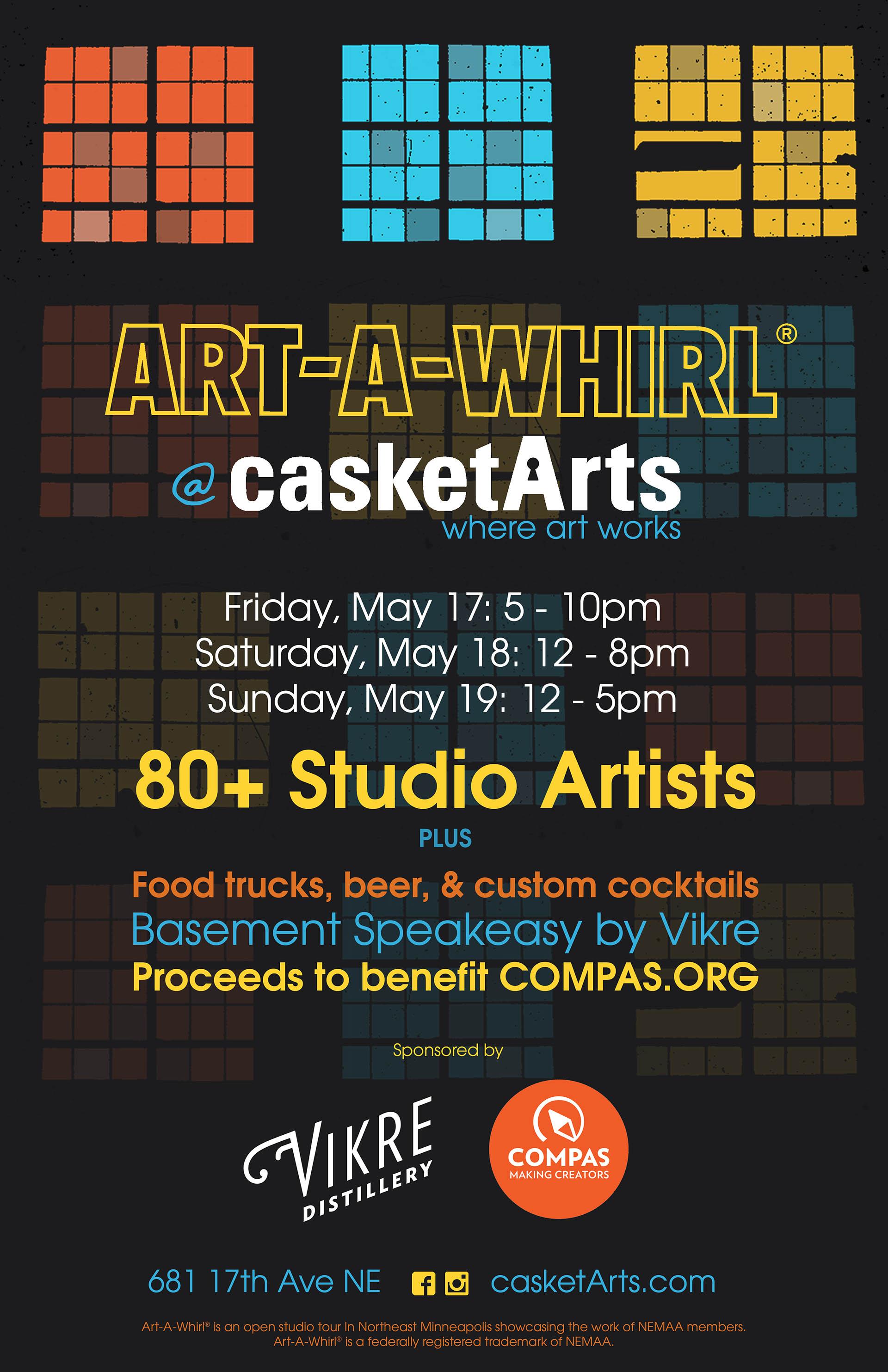 Open Studio Event - Studio 317 | Casket Arts Building