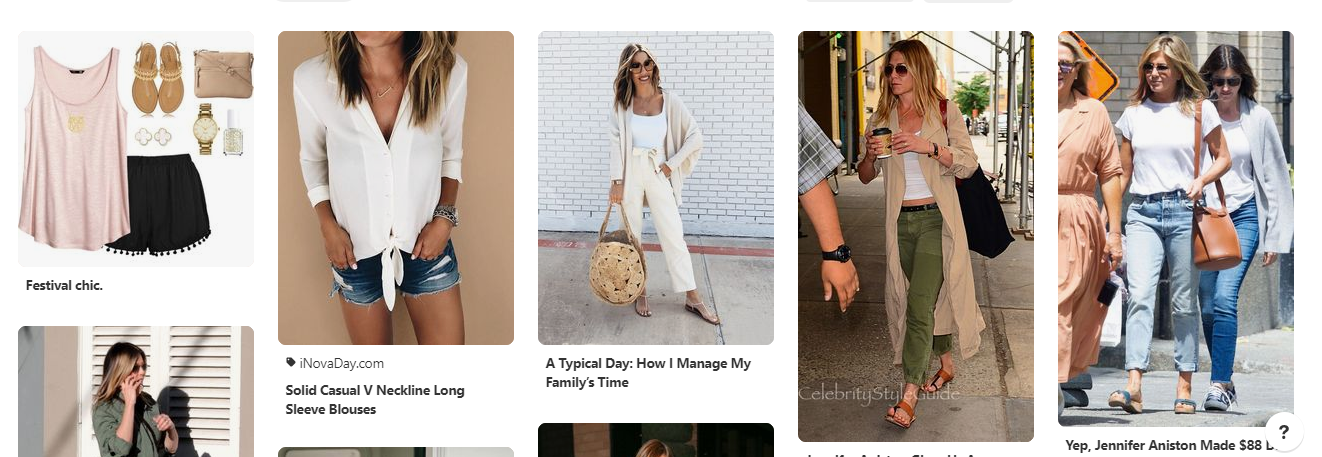 bring Pinterest board to life