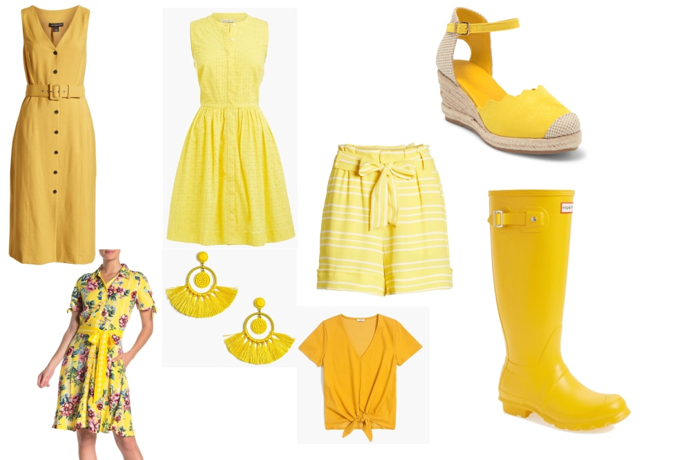 Yellow! Such an inspiring color for Summer. See items  here .