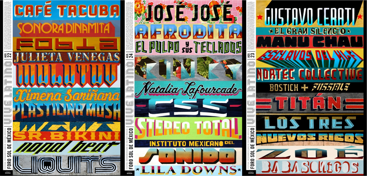 Viva Latino Posters  Emerson Velazquez