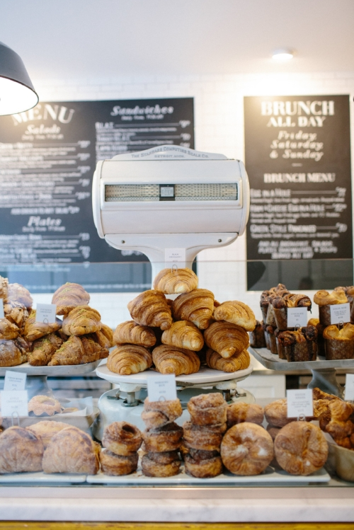If you've ever walked by a Tatte, you won't easily forget the heavenly smell that wafts into the street from its doors. Pastries range from the familiar (croissant, with 12 varieties) to unexpected (halva sesame tea cakes) but are always delicious.   Photograph by Courtney Perkins