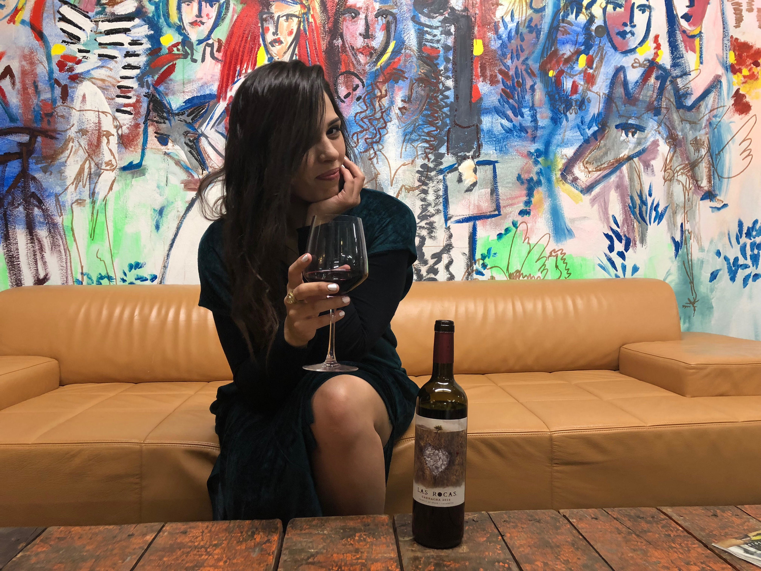 Alejandra Fallows, Assistant Wine Manager