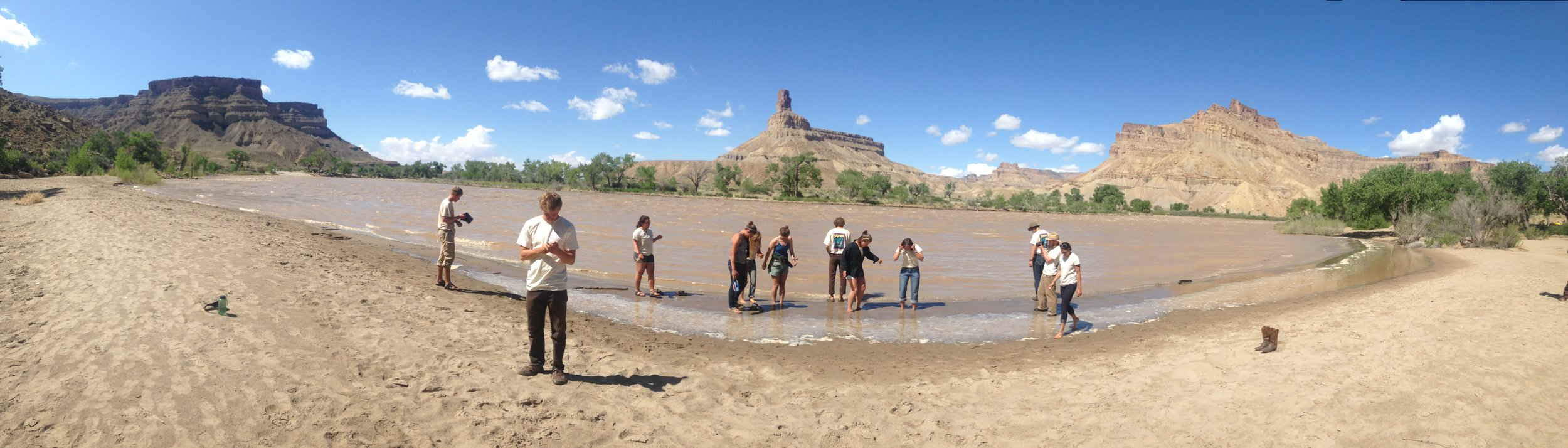 Day 60 along the Green River with the greatest group of individuals I've ever had the pleasure of getting to know.