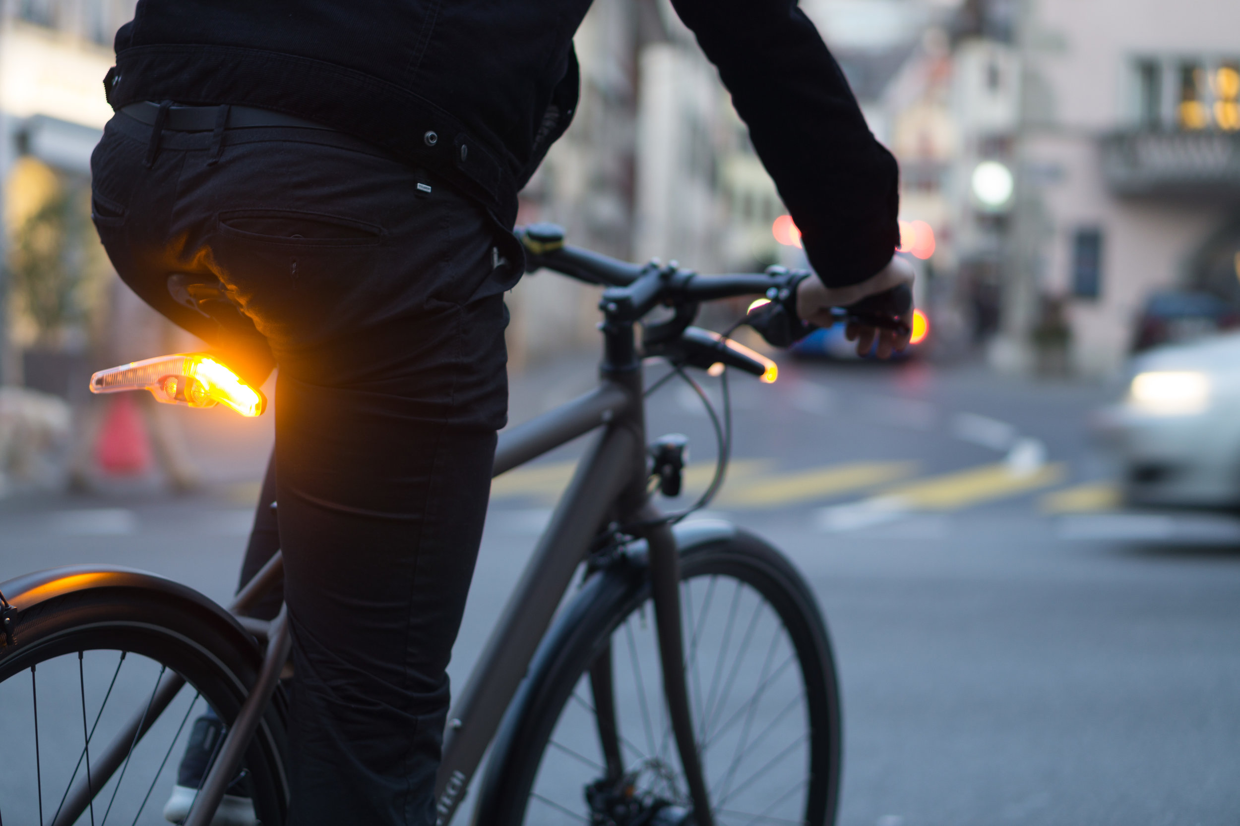 turning indicators for cyclists