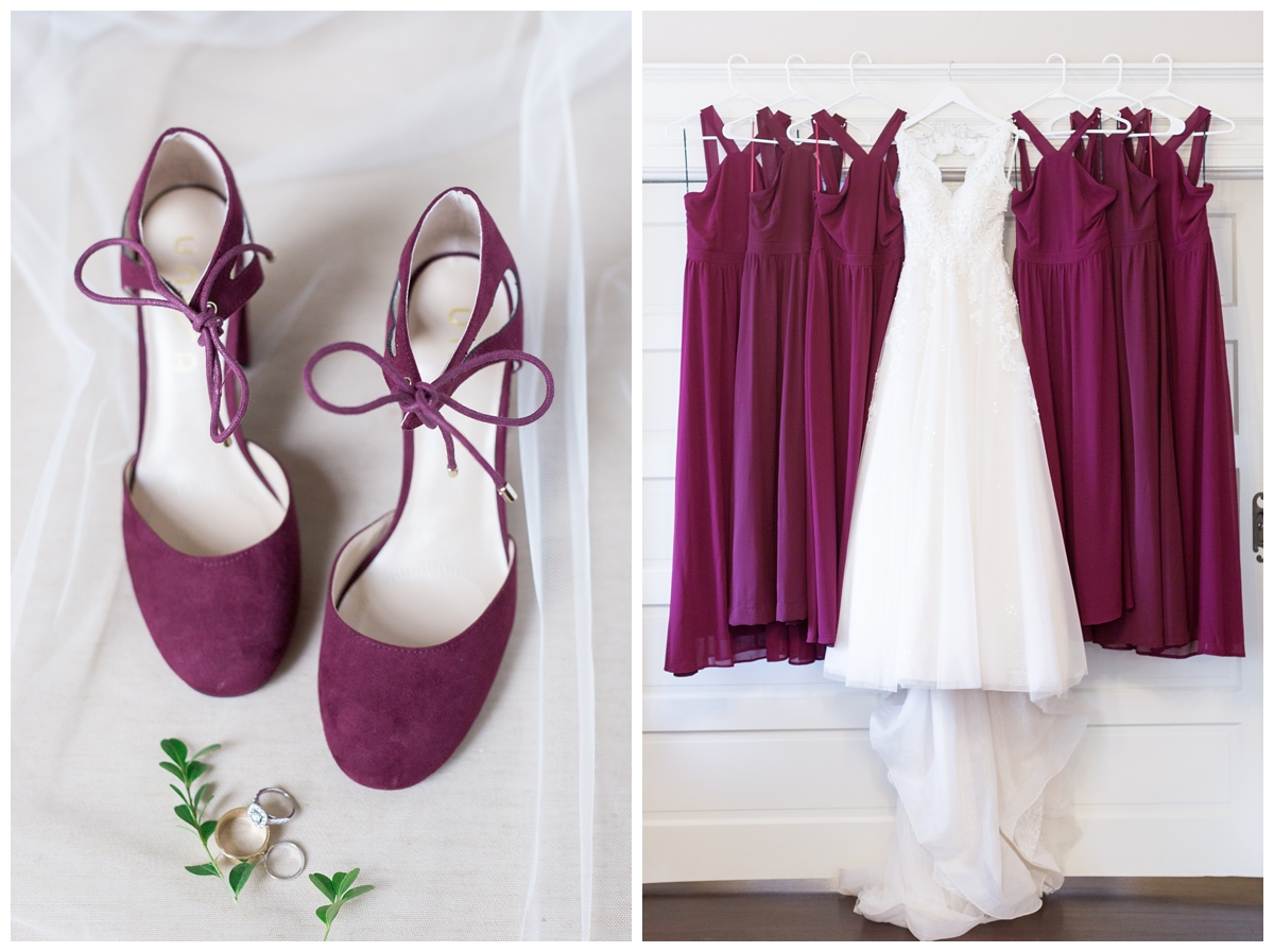 Vizcaya wedding photos in the bridal suite in Sacramento California