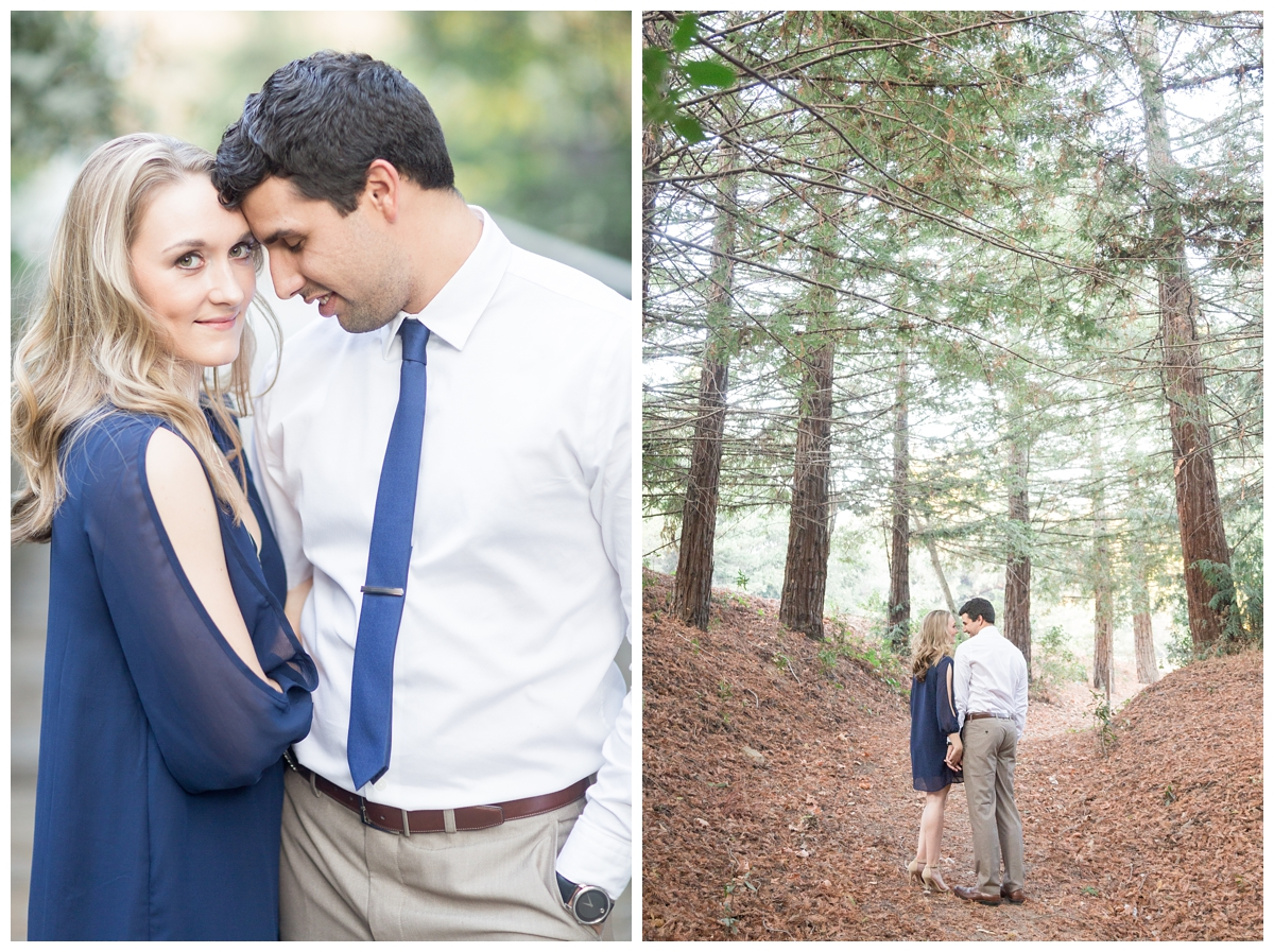 Bay Area wedding photographer travels for a destination engagement session in Castro Valley