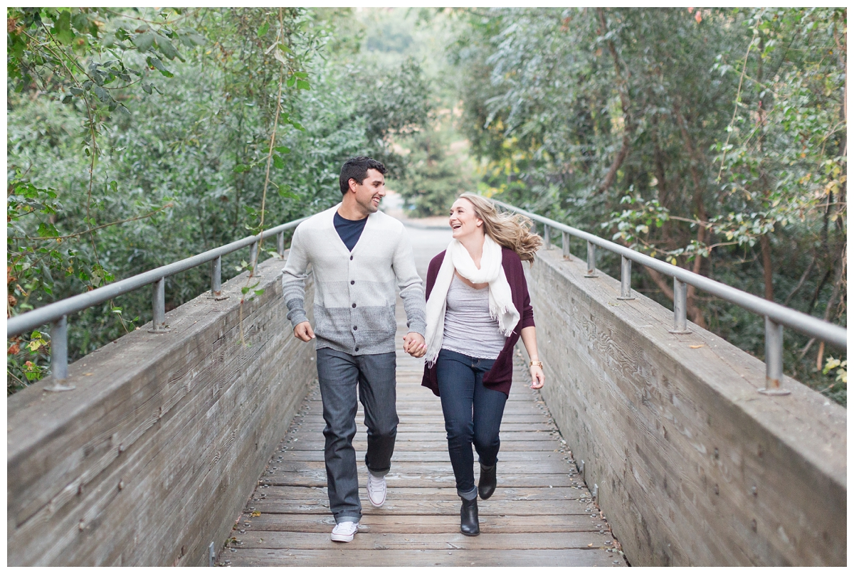 Fall engagement photo session near San Francisco