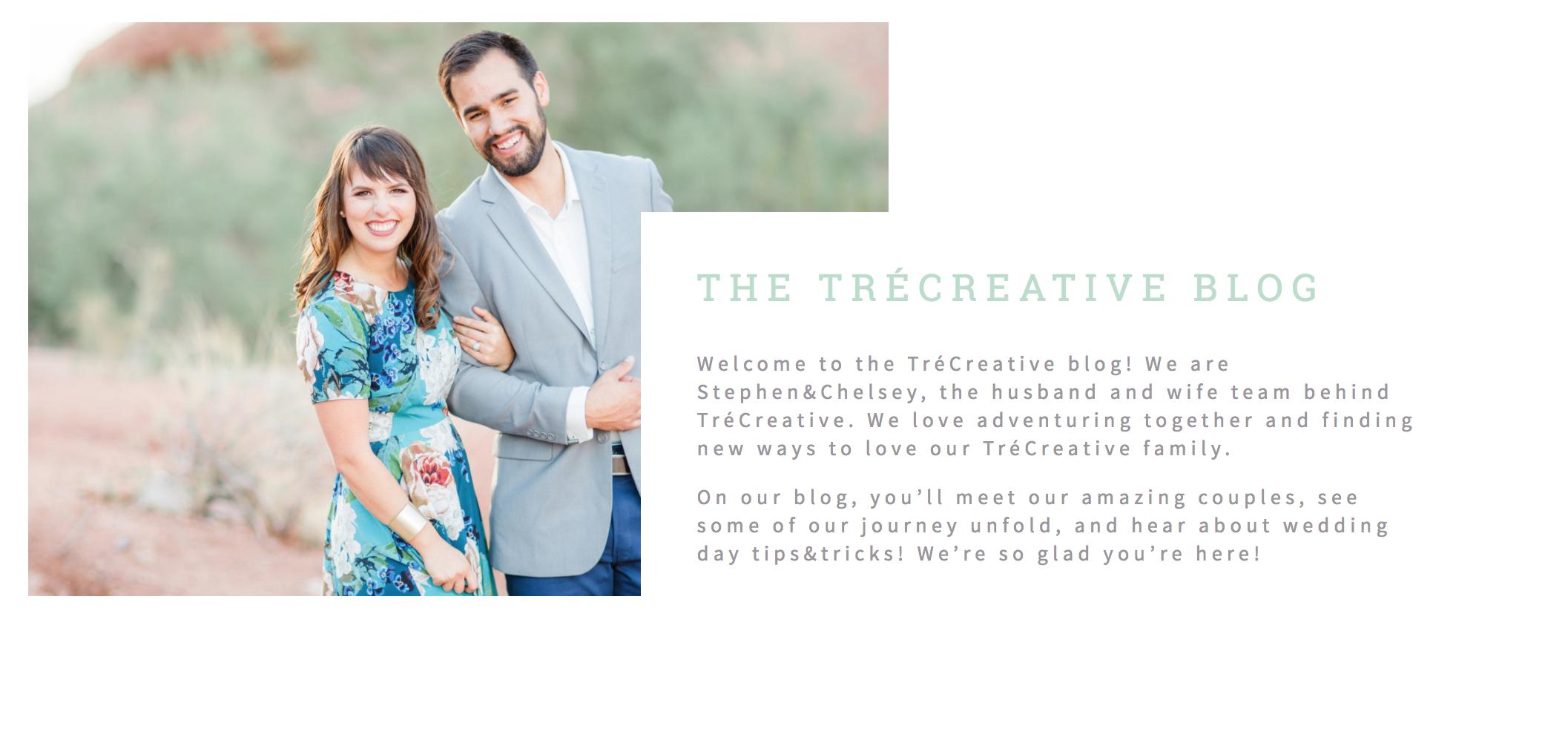 Our Story // TréCreative Tips & Tricks // TréCreative Travel