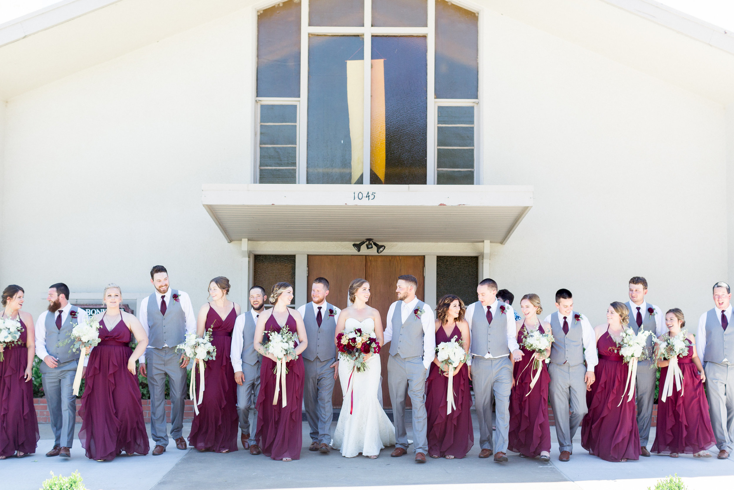 burgundy-gray-greenery-outdoor-northern-california-wedding-featured