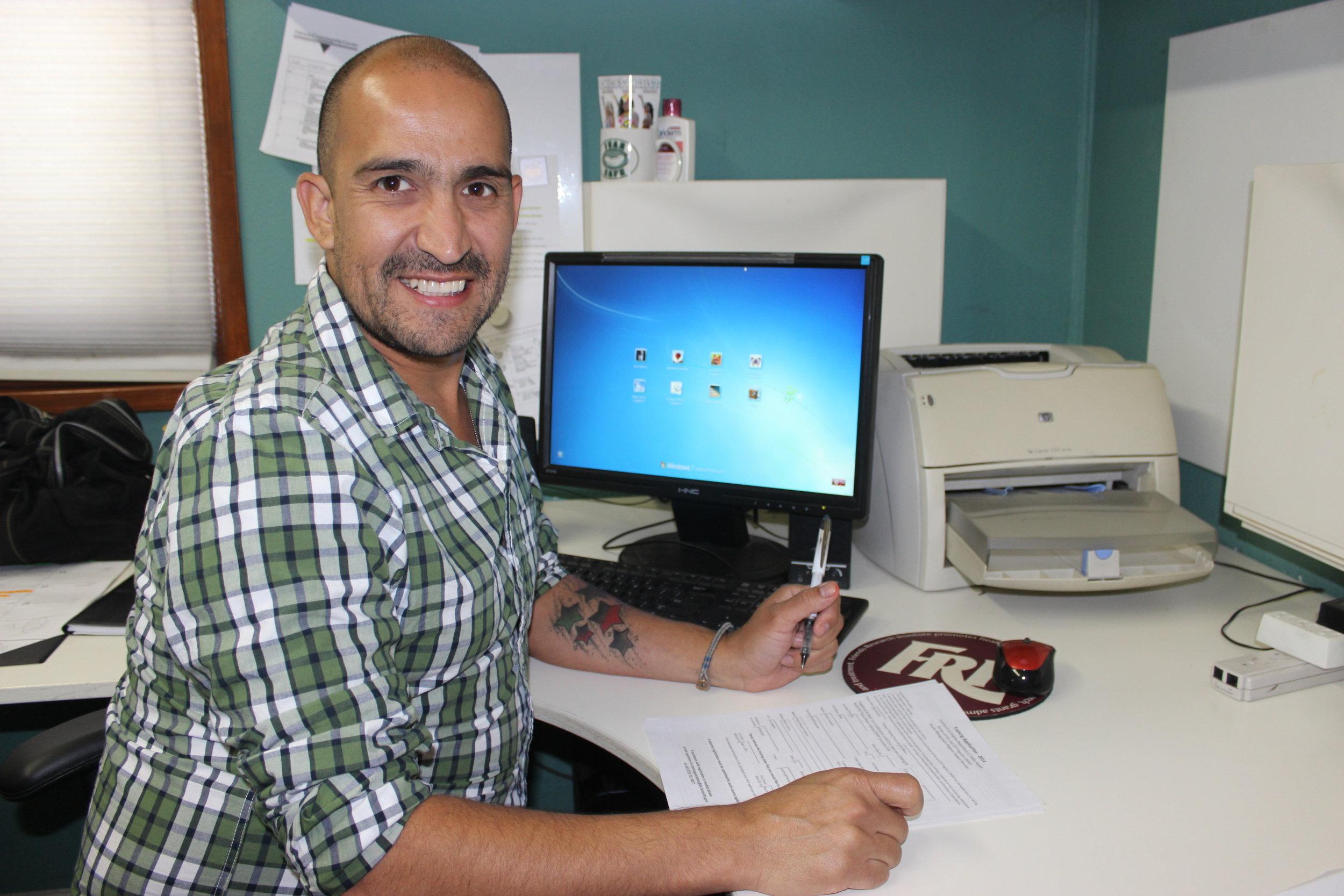 Mike Cativo - HIV Outreach Educator