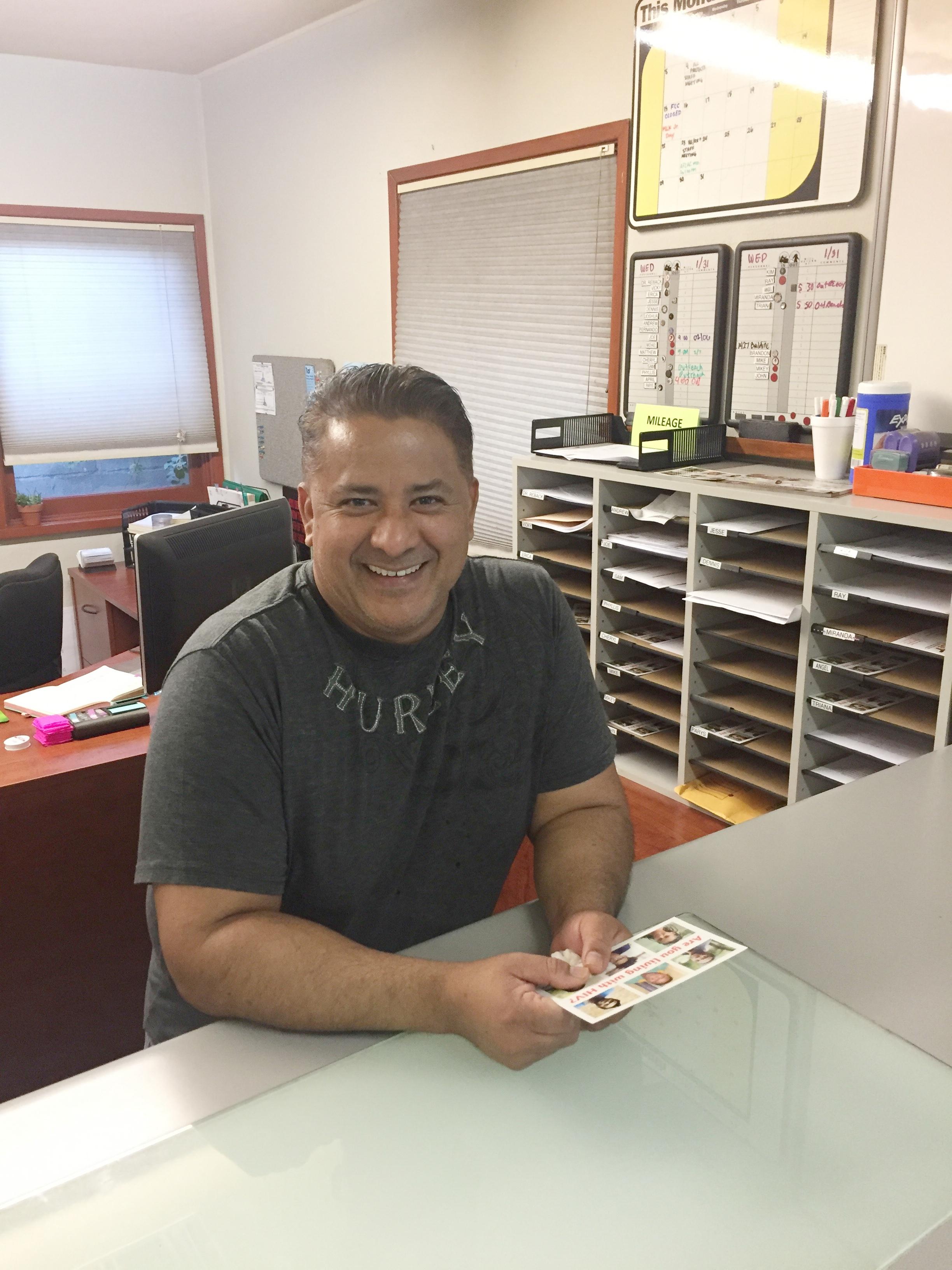 Fernando Gutierrez - Lead HIV Outreach Educator